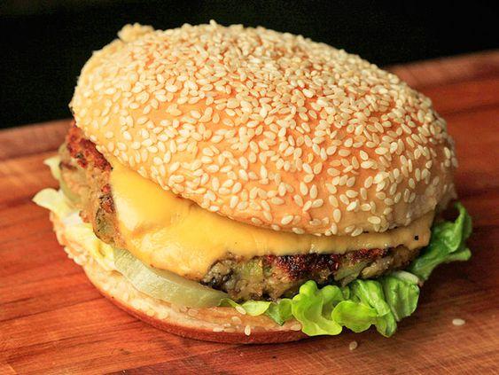 Next attempt at home made vegan burgers!