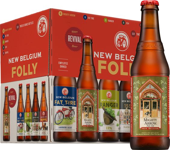 New Belgium: Mighty Arrow: This is an excellent pale ale that New Belgium started to bring back as a revival beer in their folly packs.