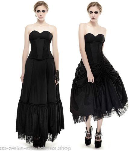 Punk-Rave-Gothic-Lolita-Kleid-Raffbar-Ballkleid-Victorian-Dress-Nugoth-Mera-Q292