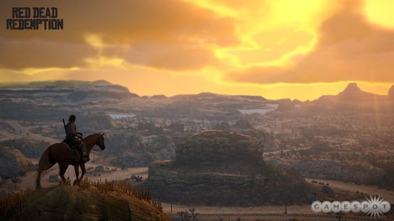 For being over 6 years old Red Dead Redemption is still one of the most beautiful games of all time. Here is a picture of John Marston looking at the sunset