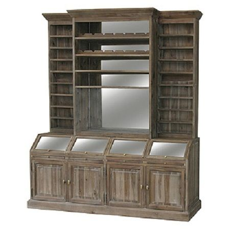 Bar Hutch Old English And Wine Bars On Pinterest