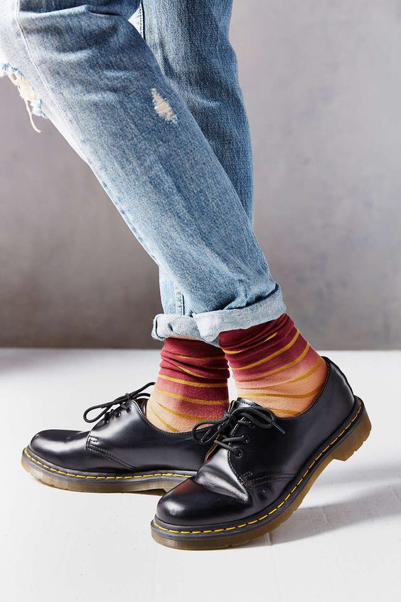 Dr. Martens are the coolest - find them on http://www.aversashoes.com/en/3_dr-martens