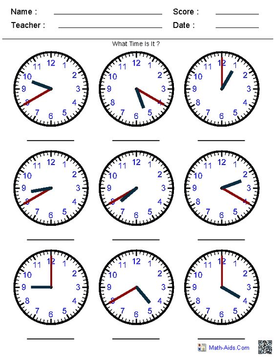 Printables Time Worksheet Generator worksheets for kindergarten math and telling time on generate random clock pre k 1st 2nd 3rd