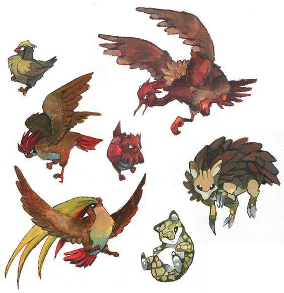 birds, shrew'n'slash by evelmiina.deviantart.com on @deviantART