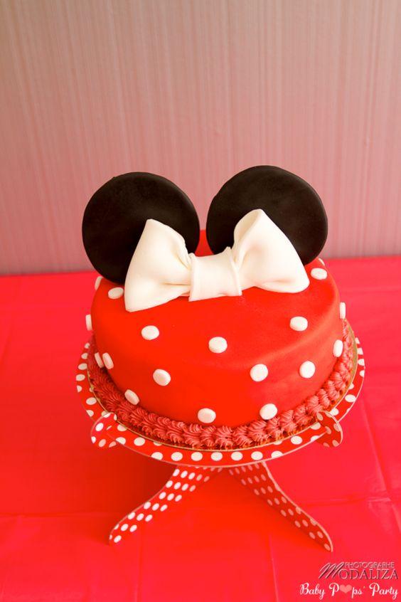 anniversaire enfant Minnie & Mickey www.babypopsparty.com