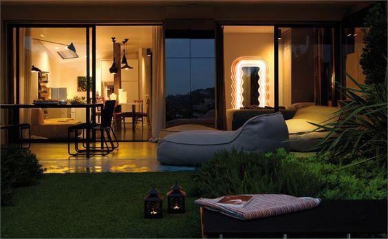 Comfort in the garden. #garden #yard #interior #design #casadevalentina
