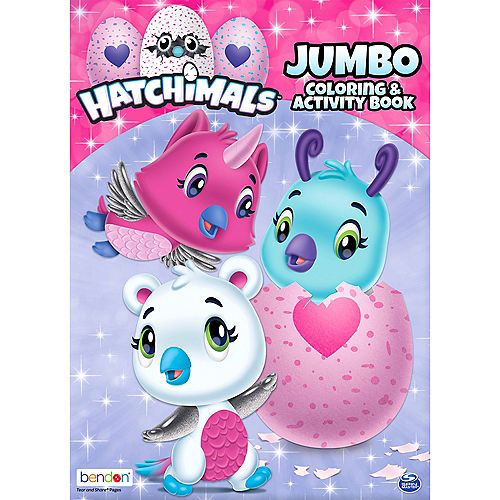Hatchimals Coloring Activity Book Party City