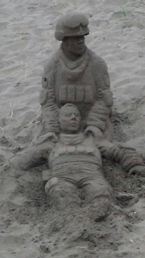 Arte da areia por abbyy
