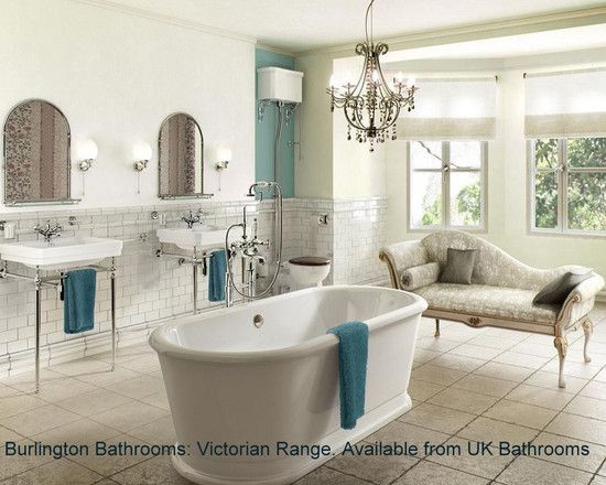 Victorian victorian bathroom and victorian design on for Edwardian bathroom design