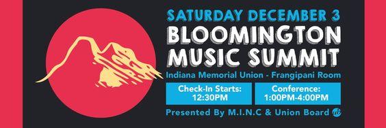 Bloomington Music Summit: