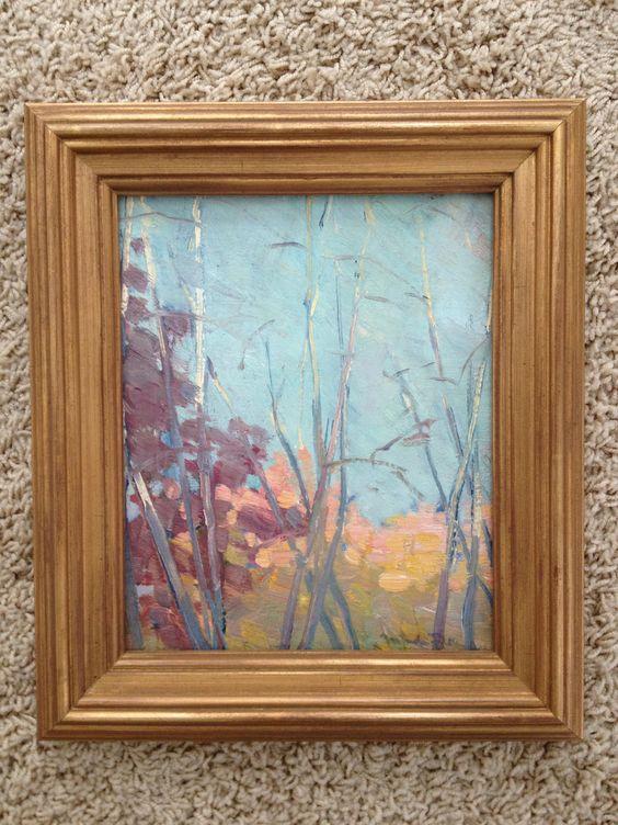 """Gertrude H. Fiske, """"Tree Study""""."""