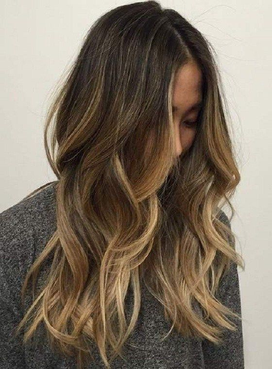 117 Hair Color Ideas For Brunette Sun Kissed Highlights Brown