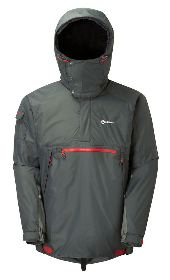 MONTANE (NEW) EXTREME SMOCK - SHADOW - NEW FOR WINTER 2014/15   The Montane Extreme Smock has become a modern outdoor classic. The first truly technical softshell, single layer mountain smock. Designed and built without compromise. Tested in extreme and hostile conditions for 20 years by mountaineers, climbers and on multiple high Arctic and Antarctic expeditions, the Montane Extreme Smock has become a trusted favourite of Mountain Rescue teams and outdoor professionals across the world.