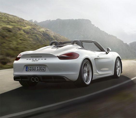 Nouveau Porsche Boxster Spyder : Les puristes vont apprécier !