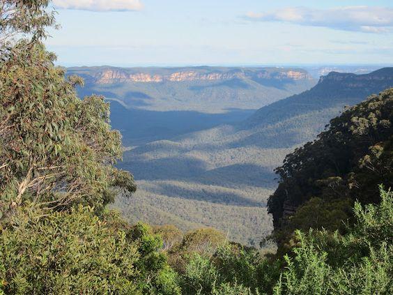 Mount Solitary, Blue Mountains, NSW Australia