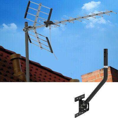 Sponsored Indoor Outdoor Tv Antenna Digital Hdtv 1080p W 180 Adjustable Pole Mount Base Outdoor Tv Antenna Outdoor Antenna Indoor Outdoor