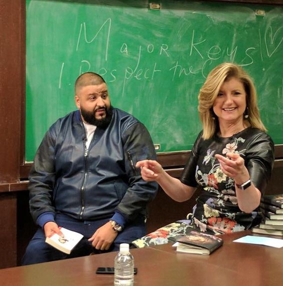 Arianna Huffington and DJ Khaled Discuss the 'Keys to Success'