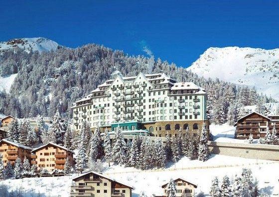 Carlton Hotel St. Moritz :: WedMap