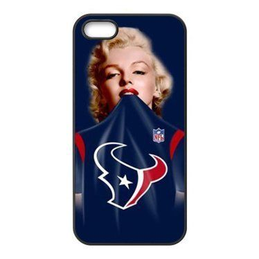 iPhone 5 & 5s Case - Marilyn Monroe in NFL Houston Texans Blue ...