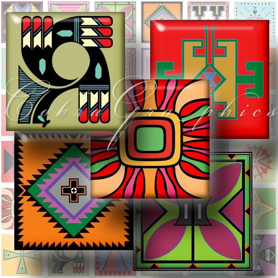 Tile design cricut and native american on pinterest for Native american tile designs