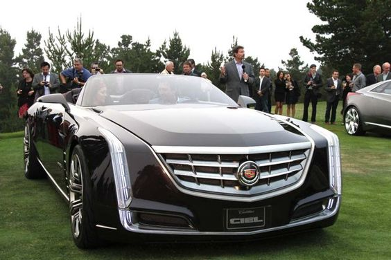 New Caddy WITH suicide doors. Drool.