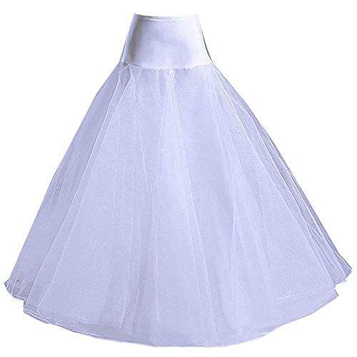 Long Full Length Tulle Petticoat Crinoline Underskirt Bridal Wedding Dress Slips In 2020 Slip Wedding Dress Crinoline Wedding Dress Ball Gowns Wedding