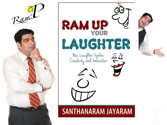Ram is an author of Ram up your Laughter. A book about the science and art of laughter