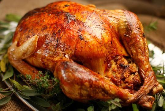Alton Brown's brined turkey... best I've ever had!