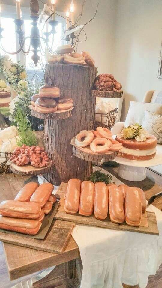 Rustic Vintage Woodland Baby Shower Baby Shower Party Ideas | Photo 2 of 17:
