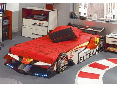 lit voiture bomba 90 cm prix promo conforama ttc meubles pas cher pinterest. Black Bedroom Furniture Sets. Home Design Ideas