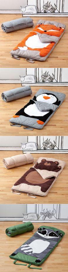 Милые спальные мешки: