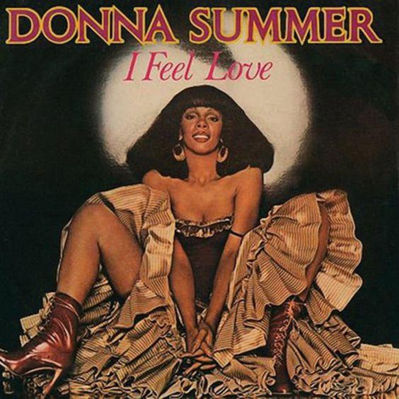 Donna Summer – I Feel Love (single cover art)