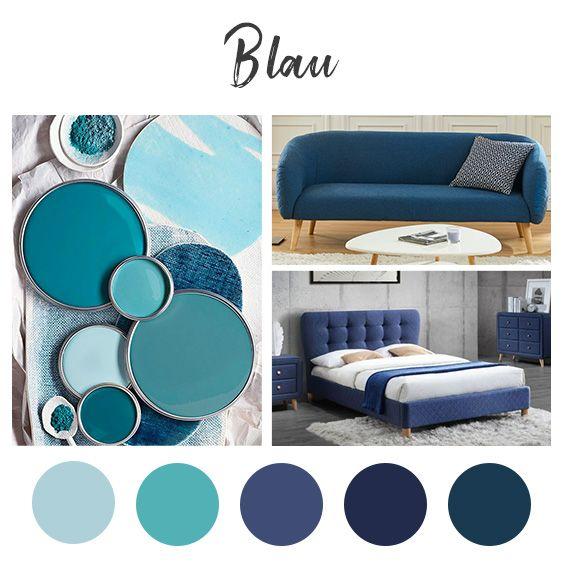 Pin Von Kauf Unique Auf Farben Farbpalette Blau Zimmer Farben Blau