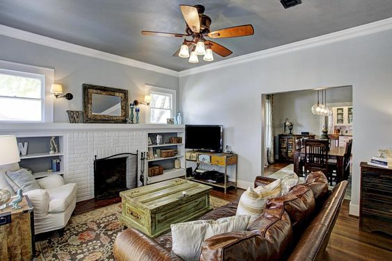 A good fireplace setup