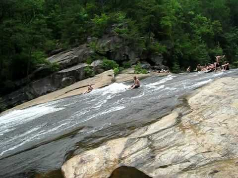 I need to do this!  Bridal Veil Falls At Tallulah Gorge State Park, Georgia