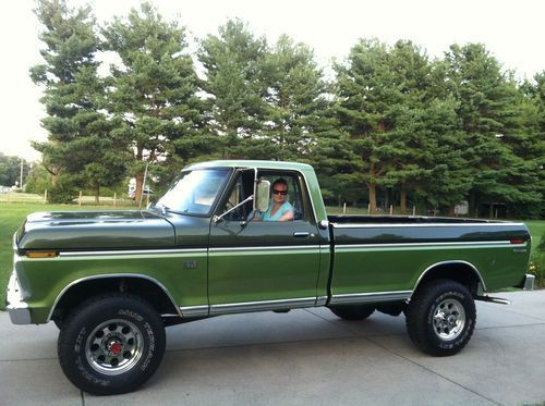 1975 ford truck colors 1975 ford f250 4x4 factory. Black Bedroom Furniture Sets. Home Design Ideas