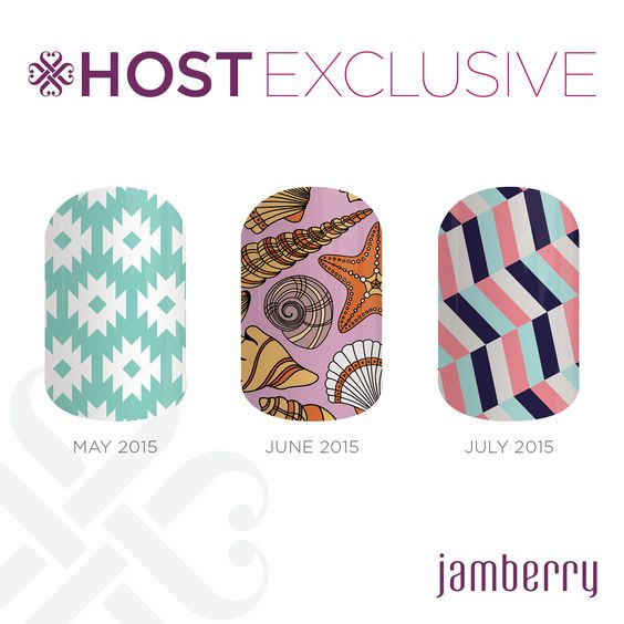 Host/Exclusive for May, June and July! Earn these Host Exclusive wraps by hosting a FB Party in May 2015!