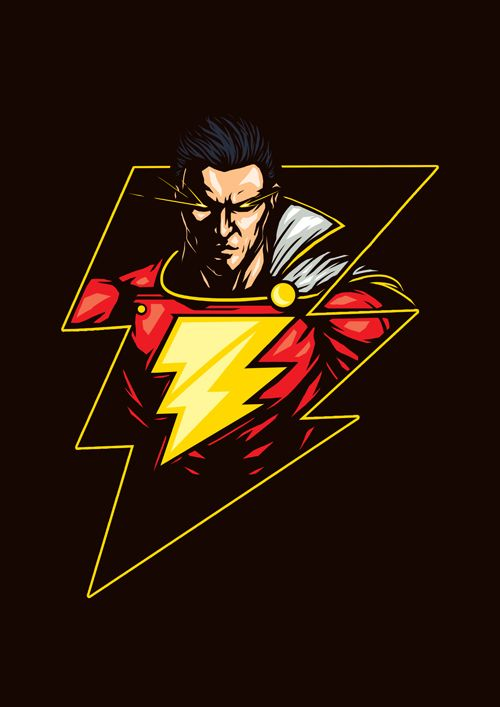 Dc Superhero Series Shazam By Steven Toang Wei Shang Justice