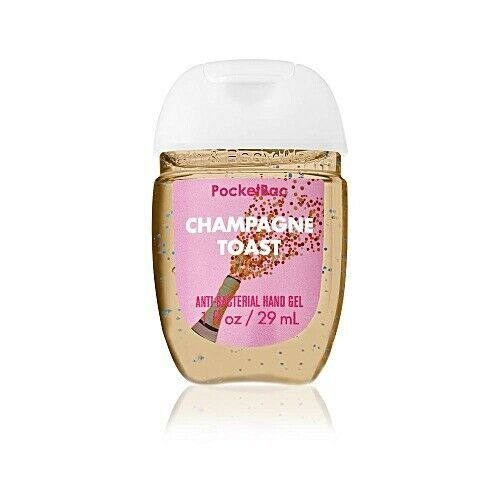 Bath Body Works Champagne Toast Pocketbac Lot Anti Bacterial