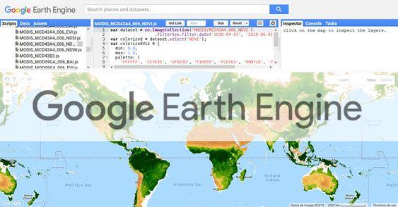 Google Earth Engine - Buscar con Google
