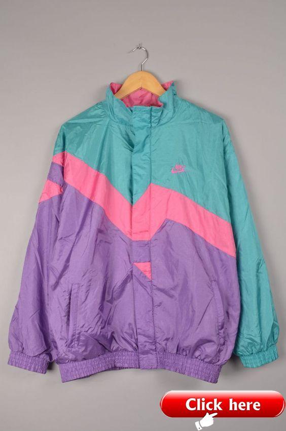 Normalmente Tomar represalias sacerdote  WINDBREAKER - Vintage ideas   Vintage nike jacket, Retro outfits, Vintage  jacket