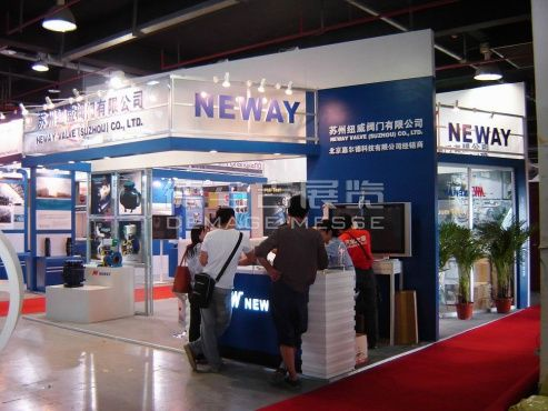 Neway Shanghai, China,English Booth Design,Neway group Exhibition Hall Planning【Demage English Exhibition Company】