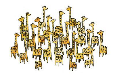 Giraffe Alphabet