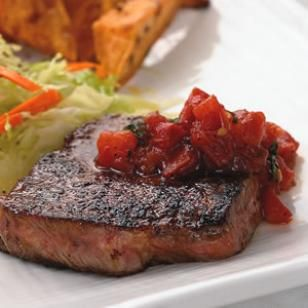 as rib-eye, trimmed of fat and cut into 2 portions 1 teaspoon chili ...