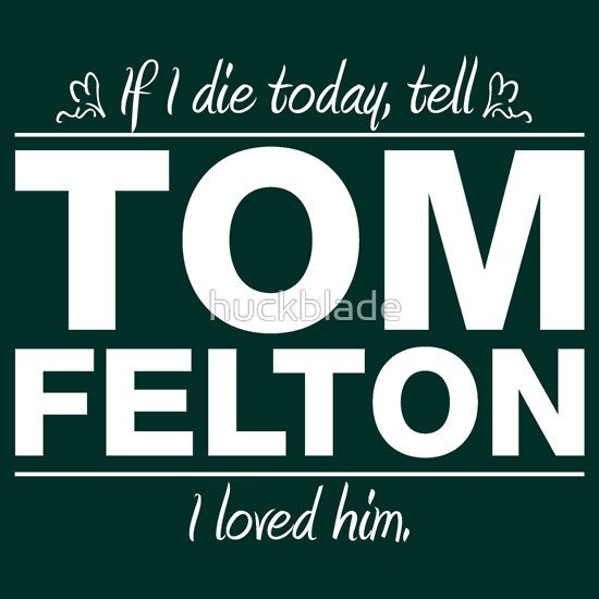 Tom Felton - If I Die Series (White)