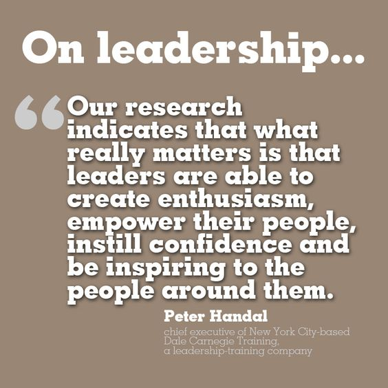 On Leadership - Notion Motion Corp.