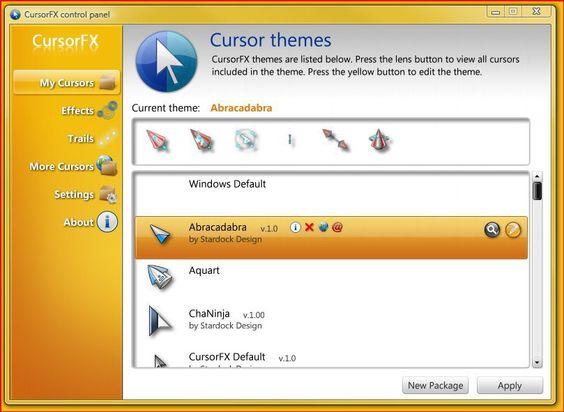 cursorfx terbaru windows 7
