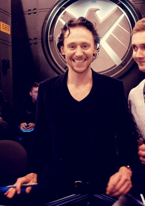 I love his grin. Also the pervy guy staring at him. I know how you feel, pervy…