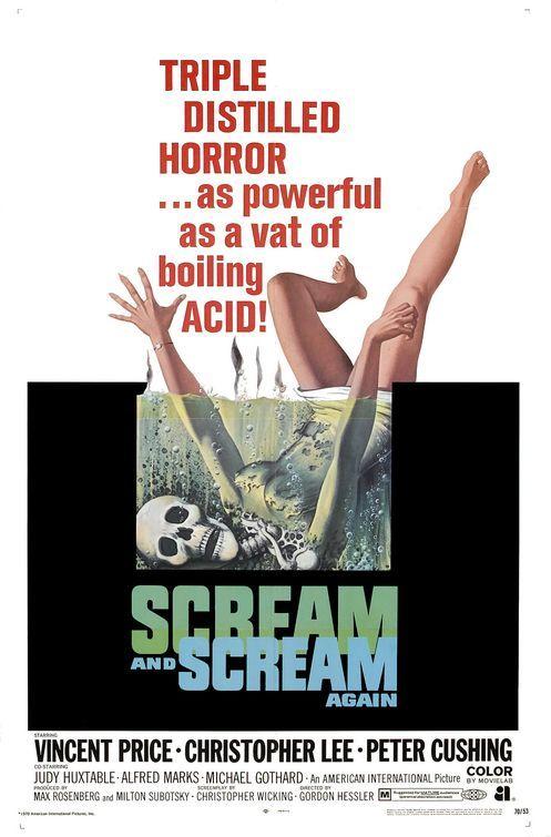Scream and Scream Again, 1969