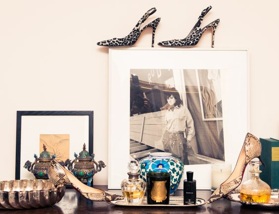 Jacqui Getty's animal kingdom. http://www.thecoveteur.com/jacqui-getty/